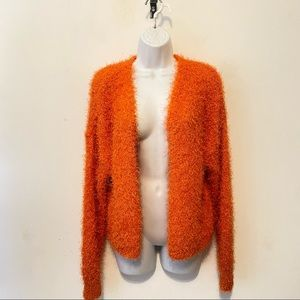 Urban Outfitters Soft Fuzzy Soft Open Cardigan